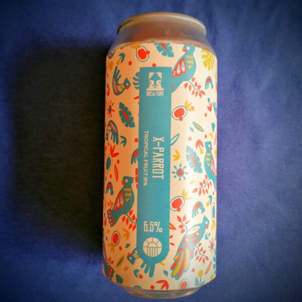 CRAFT CAN: Brew York X-Parrot (6.5%)